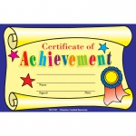 (9 Pk) Certificate Of Achievement 25 Per Pk 8.5 X 5.5