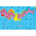 (12 Pk) Birthday Awards 25 Per Pk