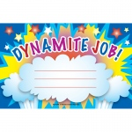(12 Pk) Dynamite Job Awards 25 Per Pk  8.5x5.5