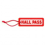 (12 Ea) Polka Dots Hall Pass