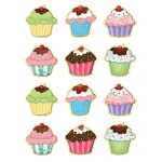 (12 Pk) Sw Cupcakes Mini Accents