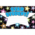 (12 Pk) Fancy Stars Star Student Awards