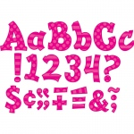 (3 Pk) Pink 5in Sassy Font