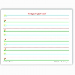 (4 Ea) Smart Start K-1 Writing Paper 100 Shts Per Pk