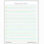(4 Ea) Smart Start 1-2 Writing Paper 100 Shts Per Pk
