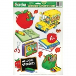 (12 Pk) Window Cling Welcome Students 12x17