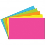 (10 Pk) Index Cards 3x5 Blank 100 Per Pk Brite Assorted