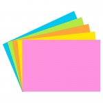 (12 Pk)index Cards 2x3 Blank 200 Ct Brite Assorted