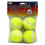 (6 St) Chair Socks 4 Ct. Polybag