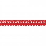 (6 Pk) Happy Cherry Double-Sided Border Scalloped Edge
