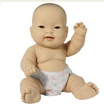 (2 Ea) Lots To Love 10in Asian Baby Doll
