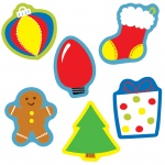 (6 Pk) Holiday Mix Cut Outs
