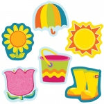 (6 Pk) Spring Mix Cut Outs