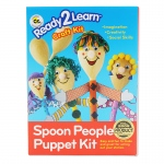 (2 Ea) Ready2learn Craft Kit Spoon People