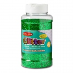 (3 Ea) Glitter 16 Oz Bottle Green