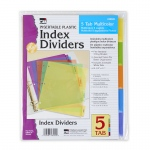 (24 Ea) 5 Tab Index Dividers