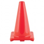 (3 Ea) Flexible Vinyl Cone 12in Orn Weighted