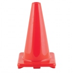 (2 Ea) Flexible Vinyl Cone 18in Org Weighted