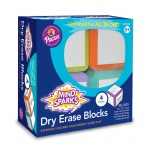 (2 Ea) Write On Wipe Off Blocks