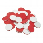 (3 St) Two Color Soft Foam Counters 200 Per St