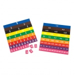 (2 Ea) Fraction & Decimal Tiles In Bag