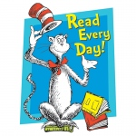 (12 Ea) Cat In The Hat Read Every Day Window Cling
