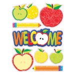 (12 Ea) Color My World Welcome Window Clings