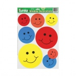 (12 Pk) Window Cling Smiles 12 X 17