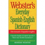(6 Ea) Websters Everyday Spanish English Dictionary
