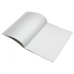 (24 Ea) Blank Book Rectangle 7x10 16 Pages