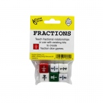(12 Ea) Fraction Dice Set Of 6