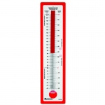 (3 Ea) Demonstration Thermometer 24x 5.75 Fahrenheit/celsius