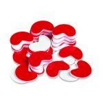 (3 Ea) Bean Counters 200 Pk Plastic Red & White