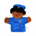 (3 Ea) Puppets Machine Washable Police Officer