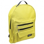 (2 Ea) Economy Backpack Mustard/blk