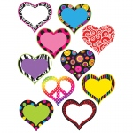 (6 Pk) Hearts Accents