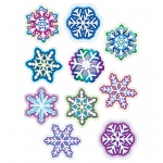 (6 Pk) Snowflakes Accents