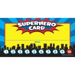 (6 Pk) Superhero Punch Cards
