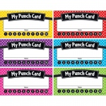(6 Pk) Polka Dots Punch Cards
