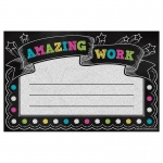 (12 Pk) Chalkboard Brights Amazing Work Awards