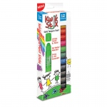(3 Pk) Kwik Stix Tempera Paint Prime Colors 12 Per Pk