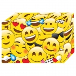 (6 Ea) Emojis Index Card Boxes 4x6 In