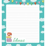 (6 Ea) Up And Away Shape Notepad Gr Pk-8