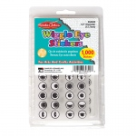 (2 Pk) Wiggle Eyes Stickers Black