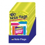 (12 Pk) Note Flags In 5 Colors Pack Of 30