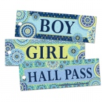 (6 Pk) Blue Harmony Hall Passes