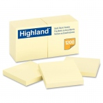 (3 Dz) Notes Highland Yellow Sold As Pk