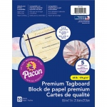 (3 St) Marble Tagboard Assortment