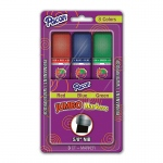 (3 St) Jumbo Markers Asst Colors