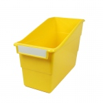 (6 Ea) Yellow Shelf File With Label Holder